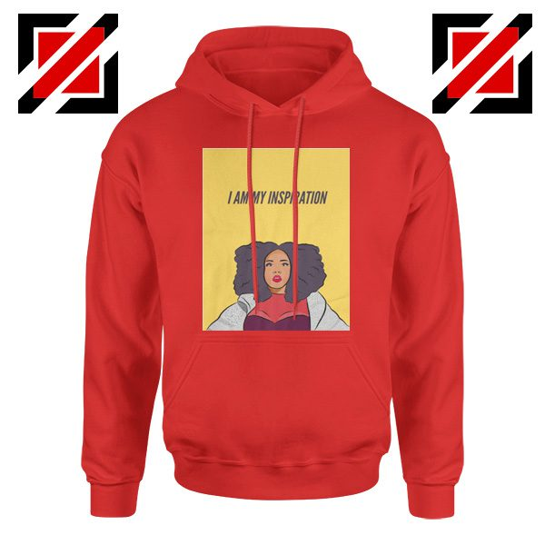 I Am My Inspiration Hoodie Lizzo American Rapper Best Hoodie Red