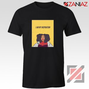 I Am My Inspiration Shirt Lizzo American Actress Best Shirt Black