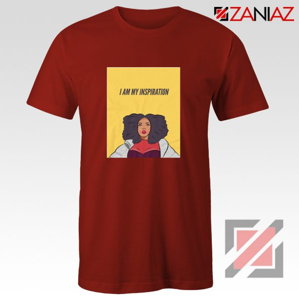 I Am My Inspiration Shirt Lizzo American Actress Best Shirt Red