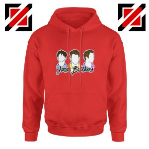 Jonas Brothers Concert Hoodie Jonas Lover Hoodie Women and Men Red