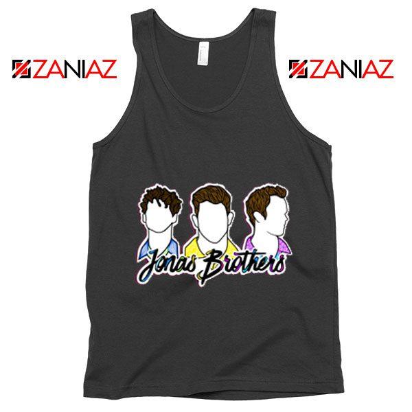 Jonas Brothers Tank Top Music Band Birthday Gifts Tank Top Black