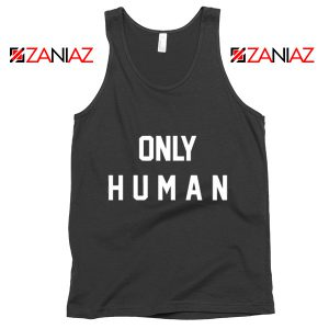 Jonas Brothers Tank Top Only Human Jonas Summer Tank Top Black