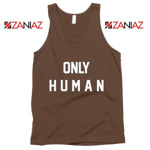 Jonas Brothers Tank Top Only Human Jonas Summer Tank Top Brown