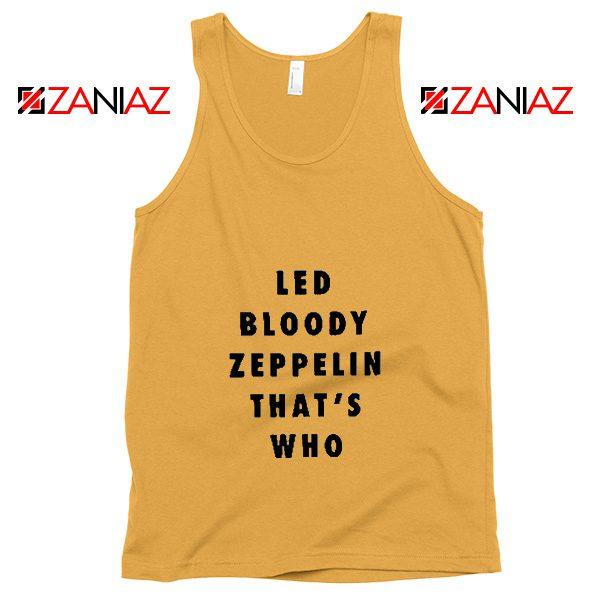 Led Zeppelin Tank Top Rock Band Musician Best Tank Top Sunshine
