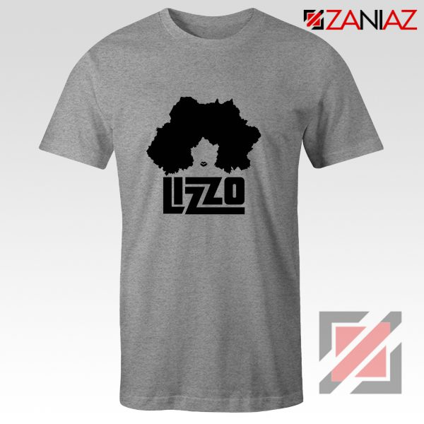 Lizzo Cheap T-Shirt American Actress Best T-shirt Size S-3XL Grey