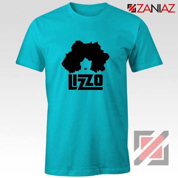 Lizzo Cheap T-Shirt American Actress Best T-shirt Size S-3XL Light Blue