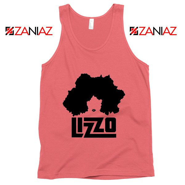 Lizzo Cheap Tank Top American Rapper Clothing Size S-3XL Coral