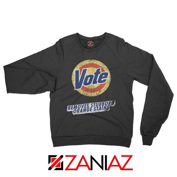 Never Trump Sweatshirt Funny Quotes Anti Trump Gifts Sweatshirt Black