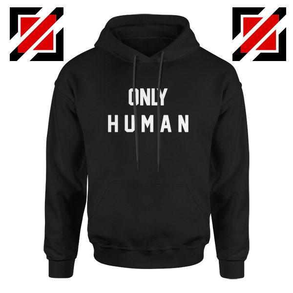 Only Human Hoodie Cute Jonas Christmas Hoodie Gift for Her Black