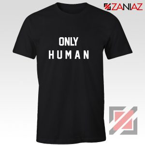 Only Human Jonas Brothers T-shirt Music Band Gift for Her Black