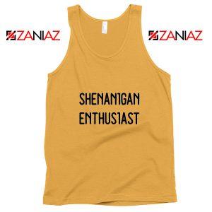 Shenanigans Tank Top St Patricks Day Tank Top Size S-3XL Sunshine