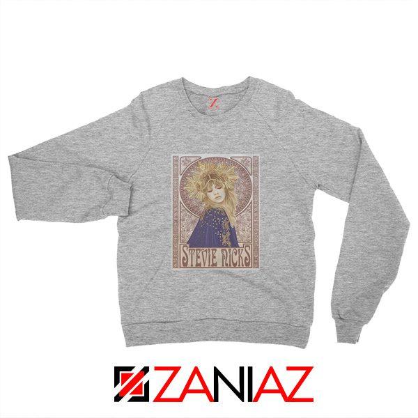 Stephanie Lynn Nicks Sweatshirt American Singer Sweatshirt Grey