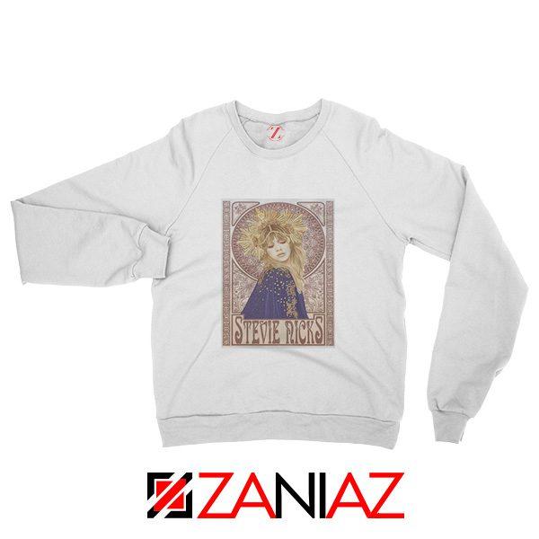 Stephanie Lynn Nicks Sweatshirt American Singer Sweatshirt White