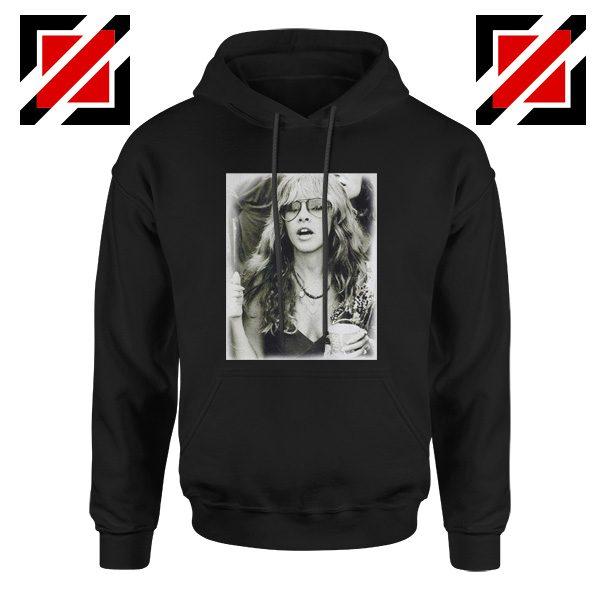 Stevie Nicks Hoodie Music Rock Concert Hoodie Unisex Adult Black