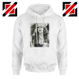 Stevie Nicks Hoodie Music Rock Concert Hoodie Unisex Adult White