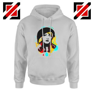 Stevie Nicks Hoodie Women's Clothing Musician Cheap Unisex Hoodie Grey