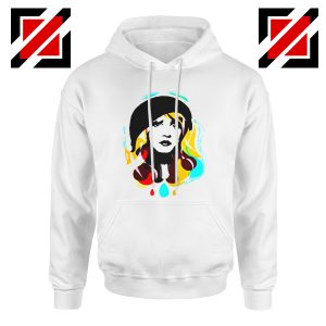 Stevie Nicks Hoodie Women's Clothing Musician Cheap Unisex Hoodie White