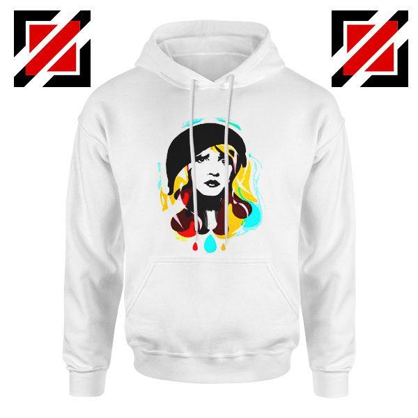 Stevie Nicks Hoodie Women's Clothing Musician Cheap Unisex Hoodie White