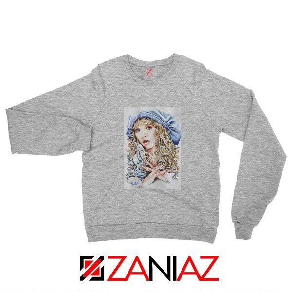 Stevie Nicks Sweatshirt American Musician Sweatshirt Unisex Grey