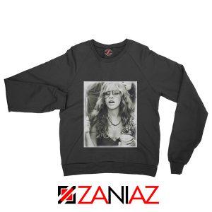 Stevie Nicks Sweatshirt American Rock Music Size S-2XL Black