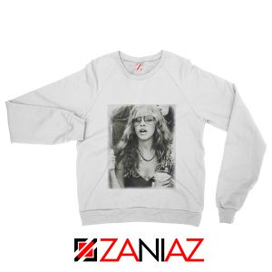Stevie Nicks Sweatshirt American Rock Music Size S-2XL White