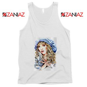 Stevie Nicks Tank Top American Rock Singer Tank Top Unisex White