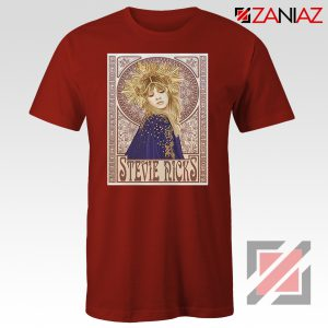 Stevie Nicks Woman Shirt Best Musician Shirt Size S-3XL Red