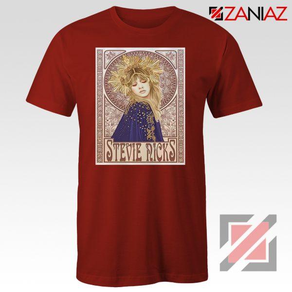 Stevie Nicks Woman Shirt Best Musician Shirt Size S-3XL Red