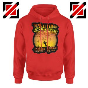 The Ballad of Buster Scruggs Hoodie American Western Comedy Drama Red