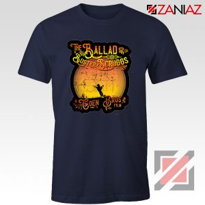 The Ballad of Buster Scruggs Shirt American Western Comedy Drama Navy