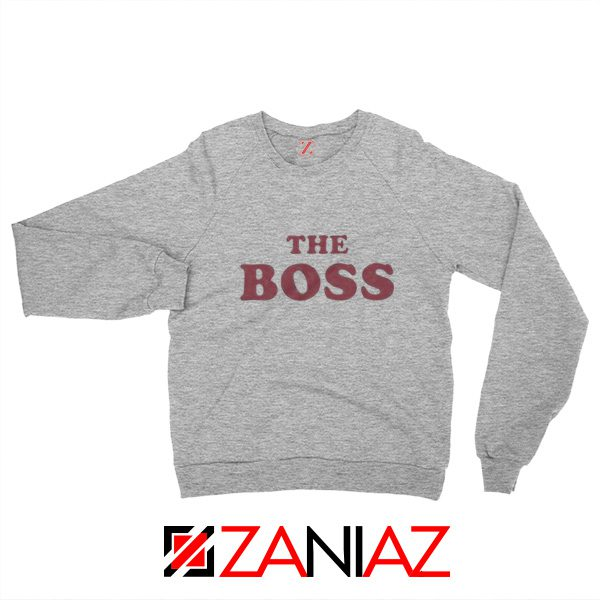 The Boss Sweatshirt American Comedy Film Sweatshirt Size S-2XL Sport Grey
