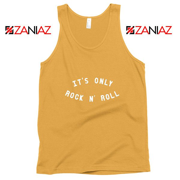 The Rolling Stones Band Cheap Tank Top It's Only Rock And Roll Sunshine