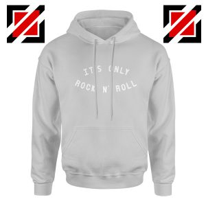 The Rolling Stones Band It's Only Rock And Roll Cheap Hoodie Grey