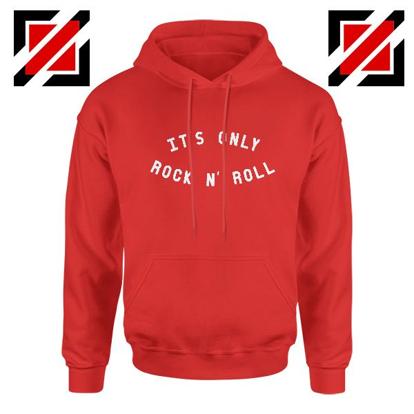 The Rolling Stones Band It's Only Rock And Roll Cheap Hoodie Red