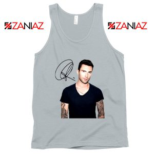 Adam Levine Signature Tank Top Maroon 5 Tank Top Ideas Size S-3XL Silver