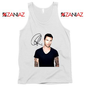 Adam Levine Signature Tank Top Maroon 5 Tank Top Ideas Size S-3XL White