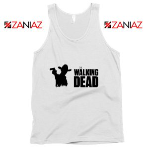 American Horror TV Series Tank Top The Walking Dead Tank Top White