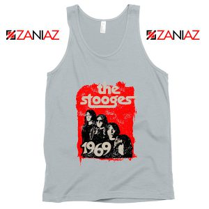 American Rock Band The Stooges Best Cheap Tank Top Size S-3XL Silver