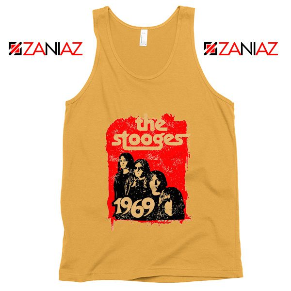 American Rock Band The Stooges Best Cheap Tank Top Size S-3XL Sunshine