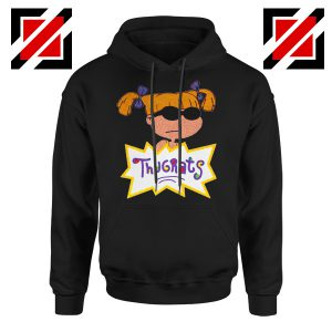Angelica Rugrats TV Show Parody Cheap Best Hoodie Size S-2XL Black