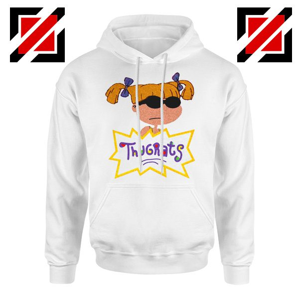Angelica Rugrats TV Show Parody Cheap Best Hoodie Size S-2XL White