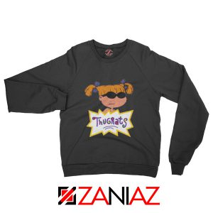 Angelica Rugrats TV Show Parody Cheap Best Sweatshirt Size S-2XL Black