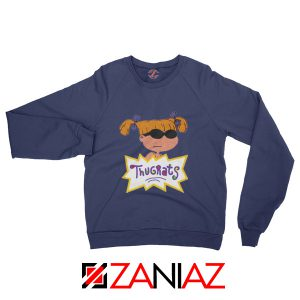 Angelica Rugrats TV Show Parody Cheap Best Sweatshirt Size S-2XL Navy