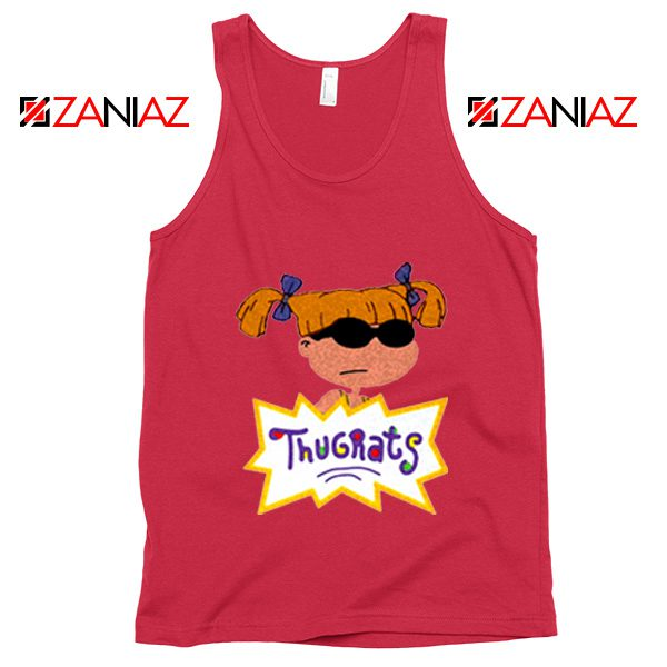 Angelica Rugrats TV Show Parody Cheap Best Tank Top Size S-3XL Red
