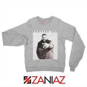 Another One DJ Khaled Sweatshirt American DJ Music Sweatshirt Sport Grey