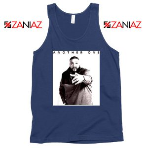 Another One DJ Khaled Tank Top American DJ Music Tank Top Navy Blue