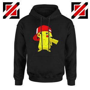 Ash's Pokemon Hoodie Pikachu Movies Best Hoodie Size S-2XL Black