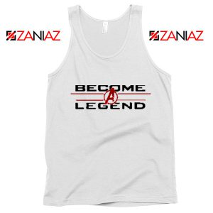 Become A Legend Tank Top Marvel Avengers Endgame Tank Top White