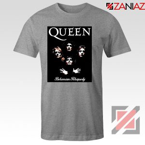 Bohemian Rhapsody T Shirt Queen Band Cheap T Shirt Size S-3XL Sport Grey