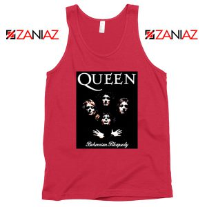 Bohemian Rhapsody Tank Top Queen Band Best Tank Top Size S-3XL Coral